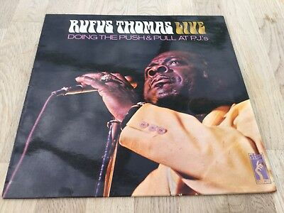 Rufus Thomas - Live. Doing The Push&Pull At P.J.'s ++ Stax org.UK Soul Vinyl LP