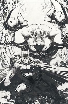 Batman The Maxx Arkham Dreams #1 Jim Lee Nycc Virgin Black White Sketch Variant
