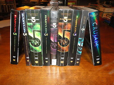 Babylon 5 and Crusade DVD collection lot