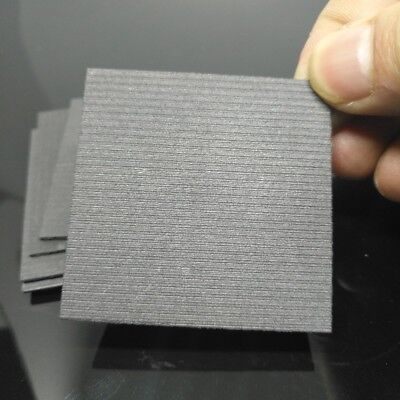50x50x1mm High pure carbon graphite sheet anode plate for EDM electrode , electr