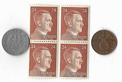Rare Old German WWII Coin Stamp Great War Collection Lot Deutsches Reich Sale WW
