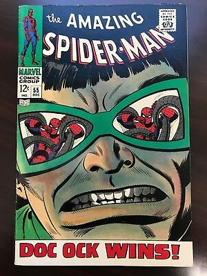 Amazing Spider-Man #55 Silver Age Marvel Comics High Grade