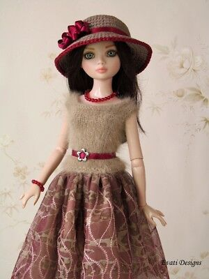 *evati* OOAK outfit for ELLOWYNE WILDE * AMBER * LIZETTE * Tonner *3