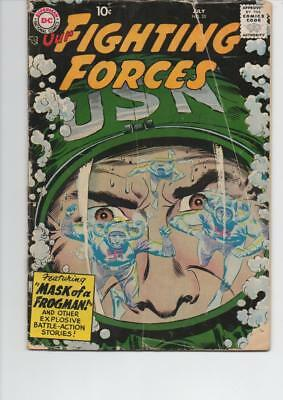 Our Fighting Forces 35 Good+ 1958 Dc Silver Age Comic