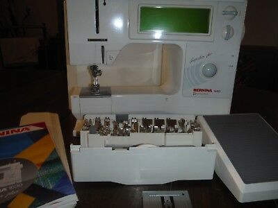 BERNINA Computerized 1630 Sewing Machine - Just Serviced Extra needle plate/37ft