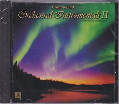 Rare Sealed CD Hard To Find Orchestral Instrumentals Vol 2 Eric #11518 OOP New