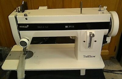 TuffSew super deluxe portable Industrial strength walking foot sewing machine