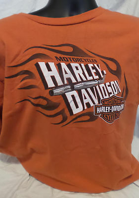 Genuine Harley Davidson Men's T Shirt Size XL Vallejo California