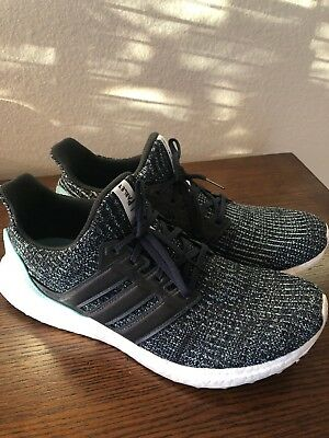 98443018bf1d2 Adidas Ultra Boost 4.0 Parley Carbon CG3673 - Men s Size 11 ULTRABOOST