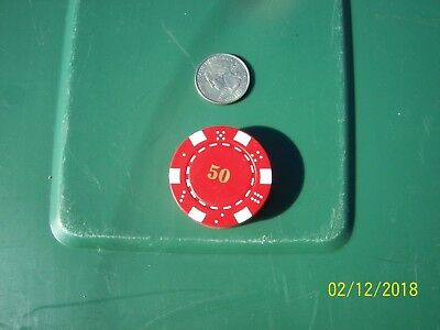 Poker Chip Refillable Butane Lighter