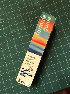 PANTONE Color Formula Guide,1998, 12th Printing, Handschy, Matching System