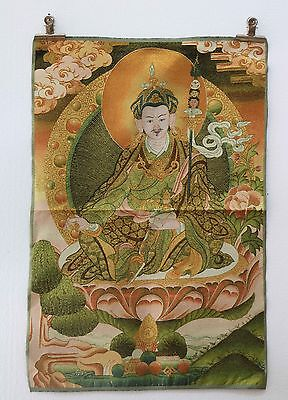 Tibet Collectable Silk Hand Painted Buddha Painting Thangka    A317