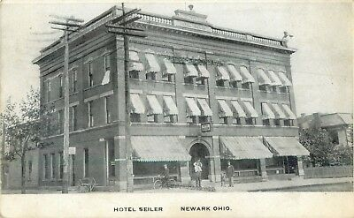 A View Of The Hotel Seilers, Newark, Ohio OH 1907