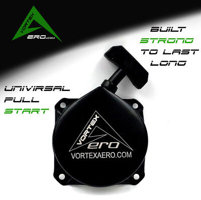 Paramotor Pull Start, Recoil, Powered Paraglider, Black Devil, Moster, WITH LOGO