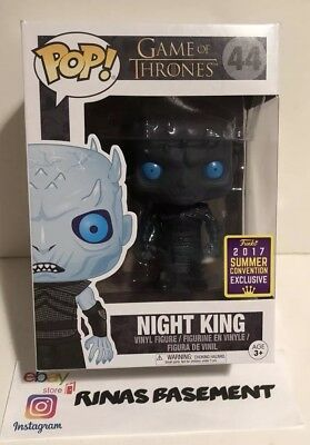 SDCC 2017 Funko POP Game of Thrones GOT Translucent Night King shared exclusive