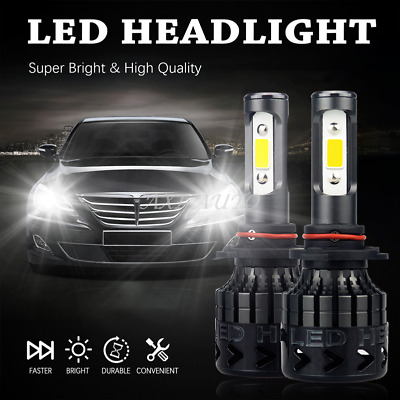 Super Bright 9006 CREE LED Headlight Bulb 6000K Light Conversion Kit 16000LM