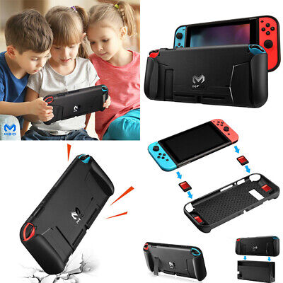 Soft TPU Case Shell For Nintendo Switch NS Console Handle Grip W/Game Card Slot