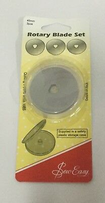 SewEasy Rotary Blade 45mm pack of 3