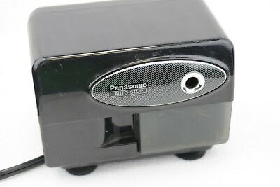Panasonic Auto-stop KP-310 Electric Pencil Sharpener Black KP 310  T124