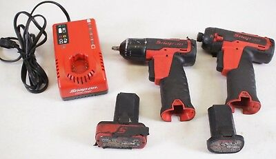 Snap-on CT725 14.4V Li-ion Cordless Impact Wrench & CTS761 Hex Screwdriver Kit