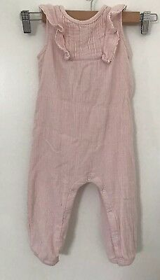 Seed I Baby Jumpsuit Powder Pink I Sz 12-18 Months