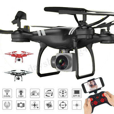KY101 2.4G 4CH 6Axis RC FPV Drone With Wifi 2.0~3.0MP HD Camera Quadcopter