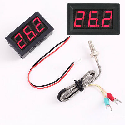 High-precision Thermometer Industrial Thermometer with K-type Thermocouple Probe