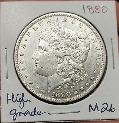 1880 Morgan Silver Dollar $$, High grade ,Estate sale