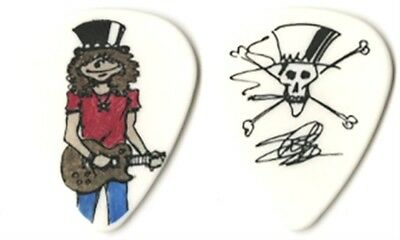 Slash authentic collectible 2008 tour issued signature Guitar Pick Guns N Roses