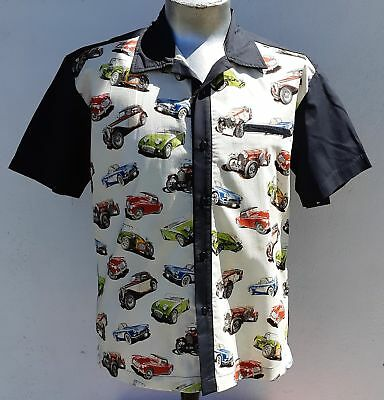 Bowling shirt by 'Steady Clothing', Classic Roadsters USA.
