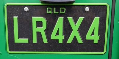 Personalised Number Plates Qld