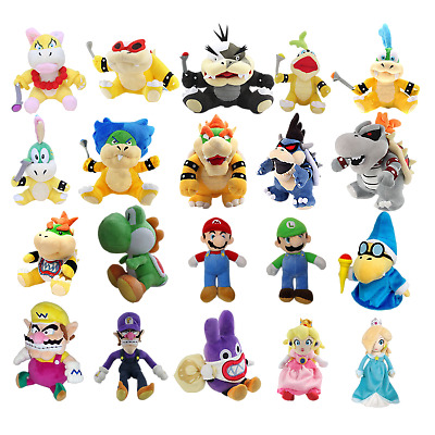 Super Mario Bros. Plush Toy Stuffed Doll Soft Animals Kid Gift Collection Toy
