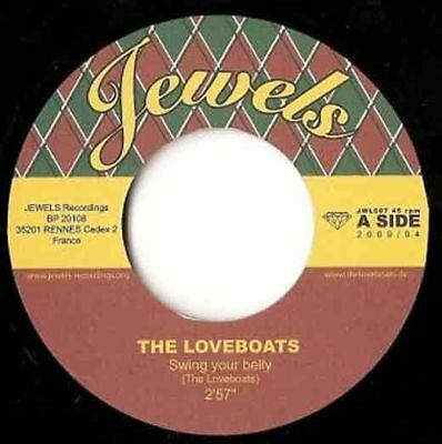The Loveboats – Swing Your Belly / Pacific Princess 7 (HALLOWEEN SALE 2018)