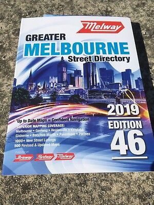 Melway, Greater Melbourne 2019 Street Directory