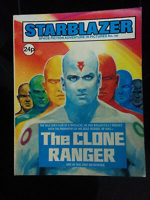 "Starblazer #166 ""THE CLONE RANGER"" published by DC Thomson"