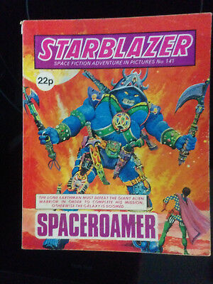 "Starblazer #141 ""SPACEROAMER"" published by DC Thomson"