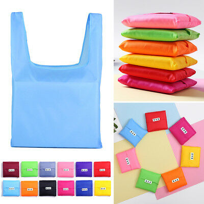 Foldable Shopping Bags Reusable Eco Grocery Carry Bag Storage Tote Handbags Gift