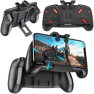 3 in 1 Gaming Trigger Handle Controller Gamepad L1R1 Fire Button for PUBG Mobile