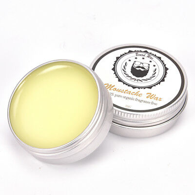 Natural Beard Oil Wax Balm Moustache For Styling Beeswax Moisturizing  k