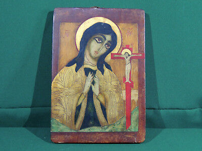 "Icon ""Virgin Mary"" Orthodox (Russia)"
