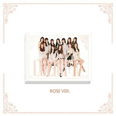 IzOne-[Color*Iz]1st Mini Album Rose CD+PhotoBook+Folding Cover+Card+Gift K-POP