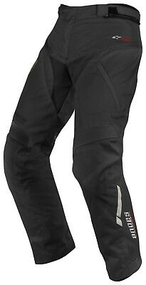 Alpinestars Andes SHORT Drystar Black Textile Motorcycle Trousers | XXXXL/4XL