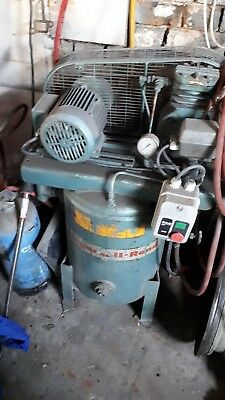 air compressor upright ingersoll-rand