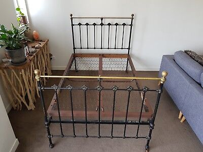 Wrought Iron Antique Bed