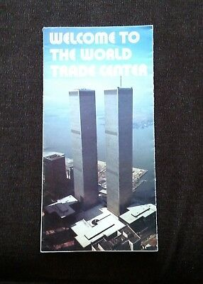 World Trade Center -  Twin Towers - 9/11 - WTC - Welcome Brochure