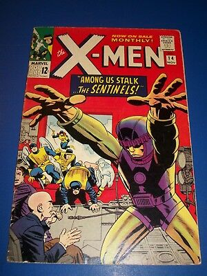 Uncanny X-men #14 Silver Age 1st Sentinels Huge Key  Fine-/Fine Beauty Wow