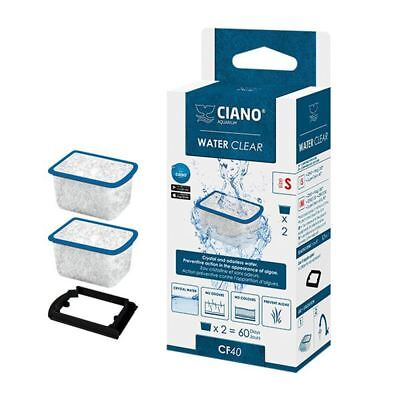 Ciano CF20/CF40 Water Clear Filter Cartridge S (Small) x2 *GENUINE*