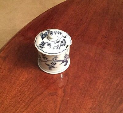BLUE DANUBE Condiment JAM /JELLY JAR WITH LID