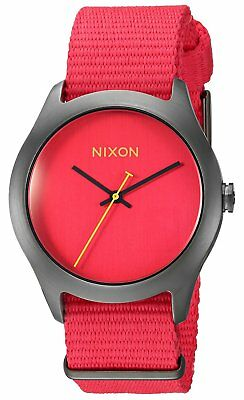 Nixon Women's A348-1600-00 Mod 38mm Bright Red Watch A3481600
