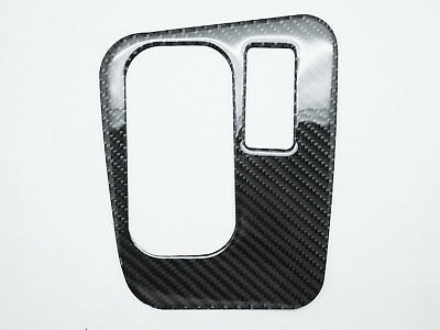 For BMW E39 RHD Carbon Fiber Gear Shift Shifter Frame Cover Overlay